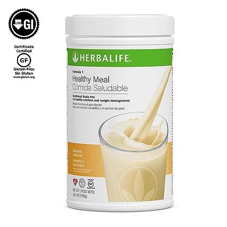 2 HERBALIFE F1 Batidos sabor CHOCOLATE 2 x 550 grs: Amazon ...