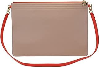 product image for Genuine Italian Leather Folio Laptop Case - Lauren Cecchi New York