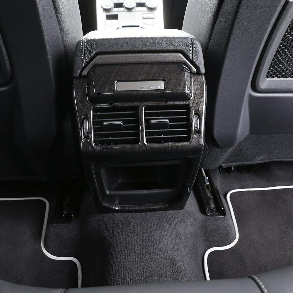 AUTO Pro for Land Rover Evoque 2012-2017 Rear Row Air Condition Vent Cover Frame Trim Stickers Car Interior Accessories Dark Ash Wood by AUTO Pro (Image #5)