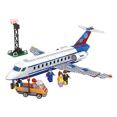 Ausini- Juego de Construcción Jet, 390 Piezas (Colorbaby 44625): Juguetes y juegos
