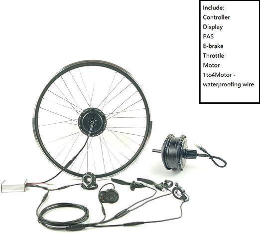 GJZhuan Casete E-Bici Kit de la Rueda Trasera Kit de Motor de ...