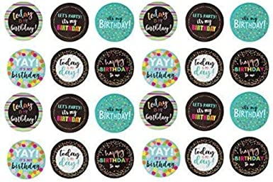 Gifts 6 Button Pack Flair Party Accessories Birthdays Buttons Party Favors Pin Back Buttons Badges 1.25