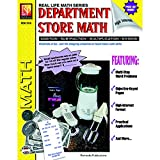 """Remedia Publications REM161A Department Store Math, Game Book, 8.2"""" Wide, 11"""" Length, 0.2"""" Height (6 per Package)"""