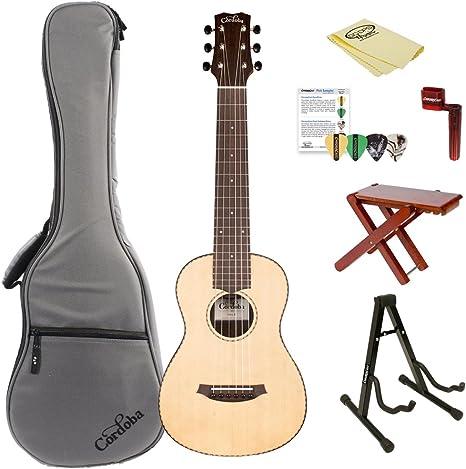 Cordoba Mini R en miniatura guitarra acústica guitarra cuerdas de ...