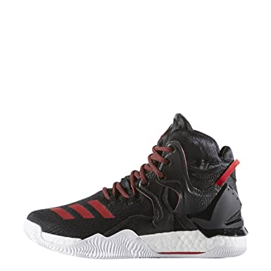 Amazon.com  Adidas Boys D Rose 7 Big Kid High Top Basketball Shoes ... a98377e67
