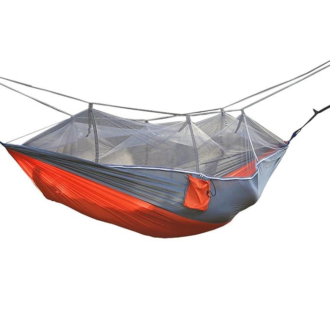 Dooxi Ultra Ligera para Viaje y Camping Hamaca Portátil Hamacas con Mosquitera: Amazon.es: Ropa y accesorios