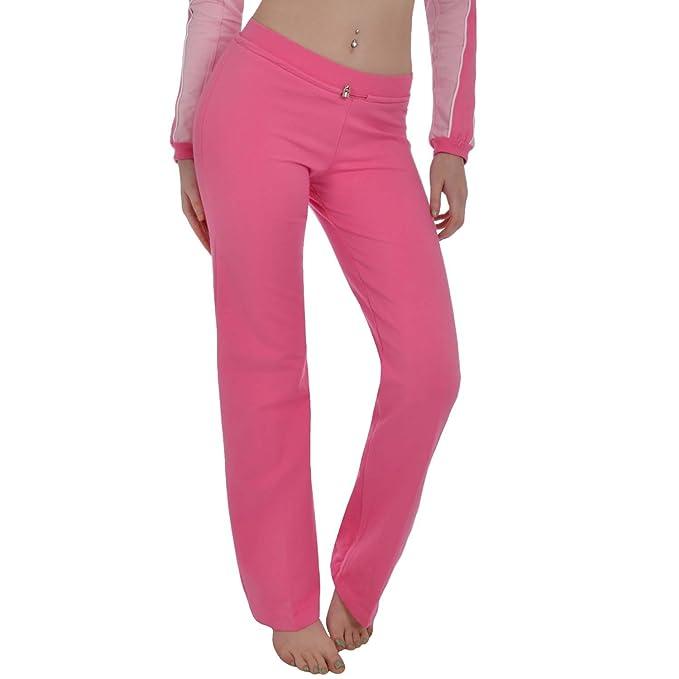 13396dae9287 Astrolabio donna pantaloni della tuta sportiva - rosa Pink 48: Amazon.it:  Abbigliamento