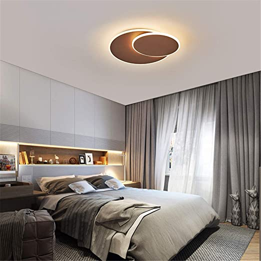 Ceiling Lights & Fans Oval Wood Ceiling Lamp Led Lighting Ac 90-260v European Style Acrylic Lamp Ceiling Lamp For Living Room