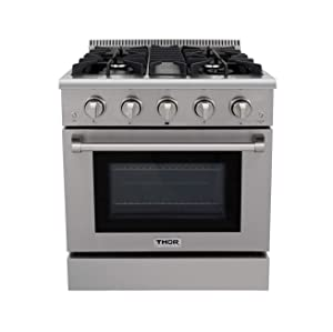Thor Kitchen Best Professional Gas Ranges for the Home