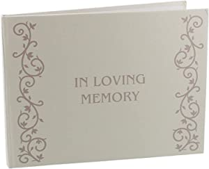 Oaktree Gifts in Loving Memory Funeral Guestbook of Condolence & Memorial Book