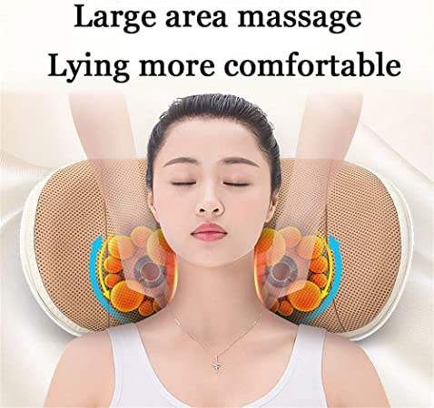 BD.Y U shape massage pillow Massager for neck waist