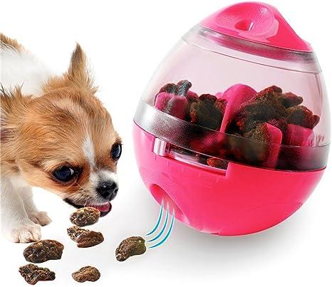 TJW Bola de comida para mascotas, dispensador de comida para perro ...