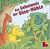 Das Geheimnis der Dino-Höhle. Wimmeliges Dino-Gucklochbuch