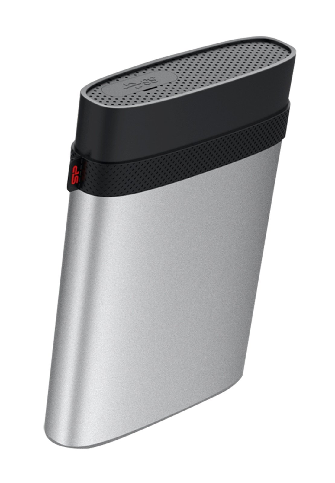 2TB Silicon Power Armor A85 Silver USB3.0 Rugged Portable Hard Drive by Silicon Power (Image #2)