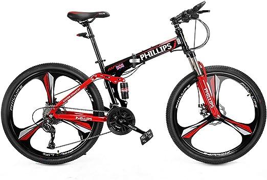 Dapang Bicicleta de montaña, Marco de Acero de 17