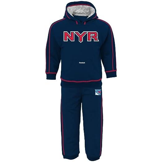Reebok NHL New York Rangers Toddler Pullover Fleece Hoodie   Pants Set -  Navy Blue ( b96da4867