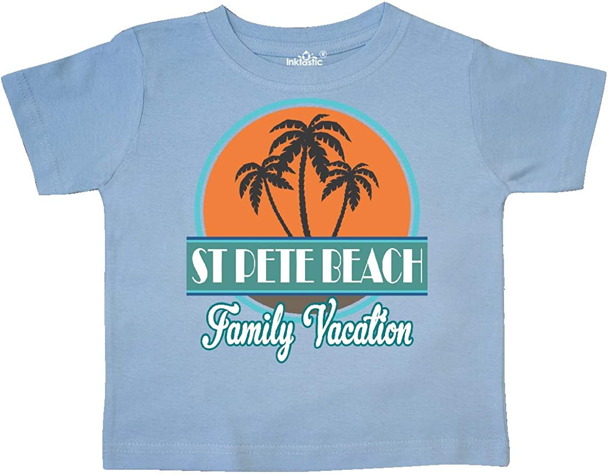 inktastic St Pete Beach Florida Family Vacation Toddler T-Shirt