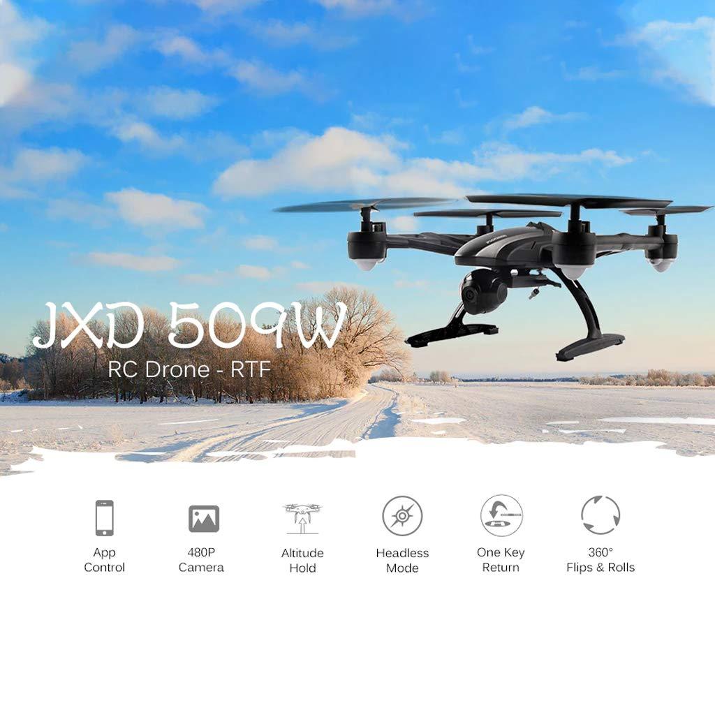 Dron FPV de 2.0 MP, JXD 509 W Drone con cámara de Aire HD de 2.0 ...