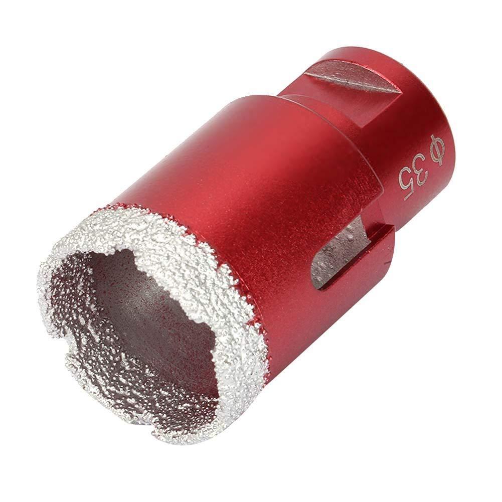 10mm//35mm M14 Diamond Drilling Bit Professional Vacuum Brazed Drilling Tile Core Bit 35mm // 1.4in
