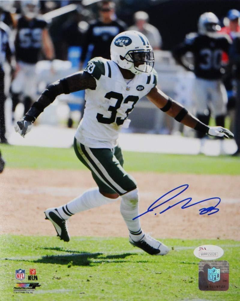Jamal Adams Autographed New York Jets 8x10 PF Photo Running JSA W