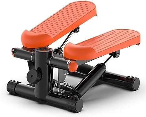 ZA Aptitud Escalera Paso a Paso for la Mujer y el Hombre, Mini de Pasos Entrenador, Paso a Paso Máquinas de Ejercicios, Ejercicio Cardio Trainer Máquina de Escalada con Monitor LED (Color :