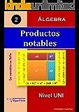 Productos notables: Álgebra (Las matemáticas son fáciles nº 2) (Spanish Edition)