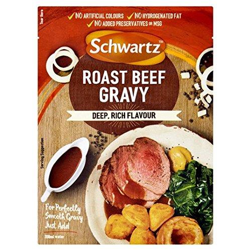 Schwartz clásico asado de carne de vaca 26g salsa