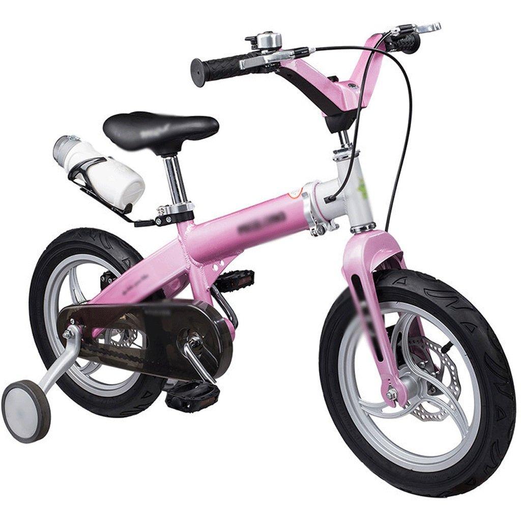 子供の自転車子格納式自転車オスとメス12 /14 /16インチ子Bicyclesパウダー – Retractable – ダブルディスクブレーキ- - - - - - - B07F6D6ZF3 12 inch