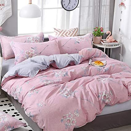 Amazon Com Vefadisa Girls Pink Queen Comforter Sets With 1
