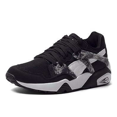 PUMA Men's Blaze Marble Black/White Athletic Shoe