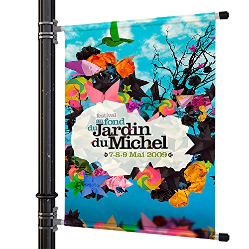 Fantastic Displays Street Light Pole Banner Mounting Hardware (36