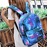 School Bag Galaxy Backpacks for Boys Girls With Pen