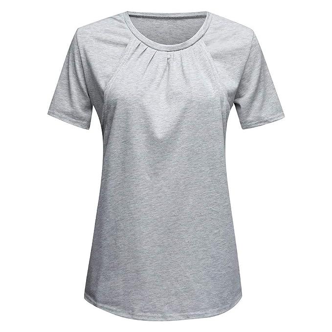 GUCIStyle Premamá Camiseta Lactancia Maternidad Mujer ...