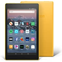 "Fire HD 8 Tablet (8"" HD Display, 16 GB) - Yellow"