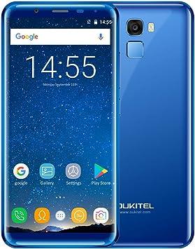 OUKITEL K5000 5.7-inch 18: 9 Teléfono móvil sin bisel 4G-LTE ...