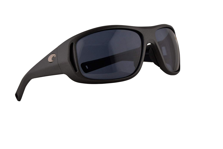 fc723ce52d Costa Del Mar Montauk Sunglasses Steel Grey Metallic w Polarized Grey  Mirror 580P Lens 62mm MTK 188 OGP  Amazon.co.uk  Clothing