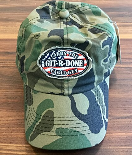 Buy Bargain Camo Hunting Cap Larry the Cable Guy Git-R-Done Adjustable Hat