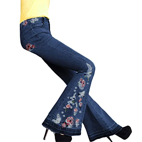 Waiimak Pantalones Vaqueros de Mujer con Visera, Cintura ...