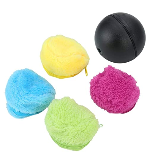 FancyswES8eety Automatic Rolling Ball Electric Powered Cleaner ...