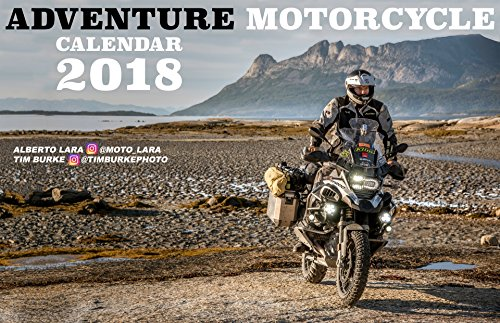 2018 Adventure Motorcycle Calendar