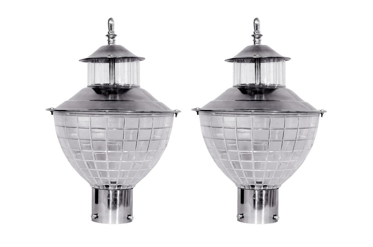 ILLUMINOUS Gate Light Outdoor Lamp For Classy Look Pack of 2pcs
