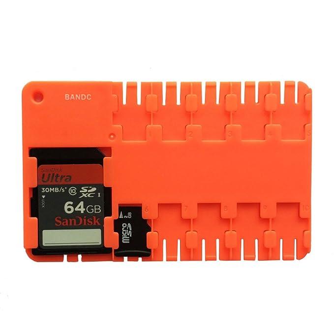 Amazon.com: bandc Rojo Micro SD/SDHC/SDXC tarjeta de ...