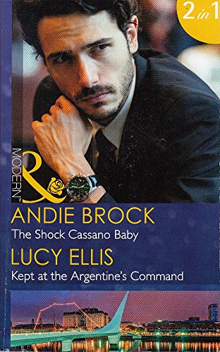 book cover of The Shock Cassano Baby / Kept at the Argentine\'s Command