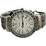 Surpriseyou(TM) Retro Vintage Antique Pattern Lady Womens Bracelet Hollow Bangle Wrist Watch