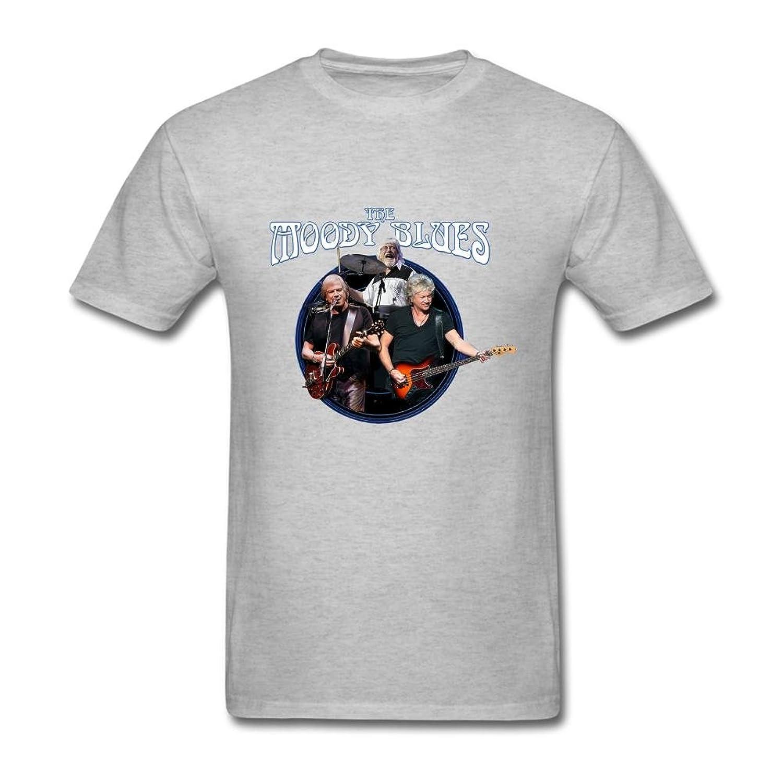 FQYPMC Man 100% Cotton Moody Blues Tour Tshirts