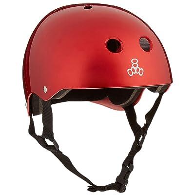 Triple 8 Standard Liner Skateboarding Helmet : Sports & Outdoors