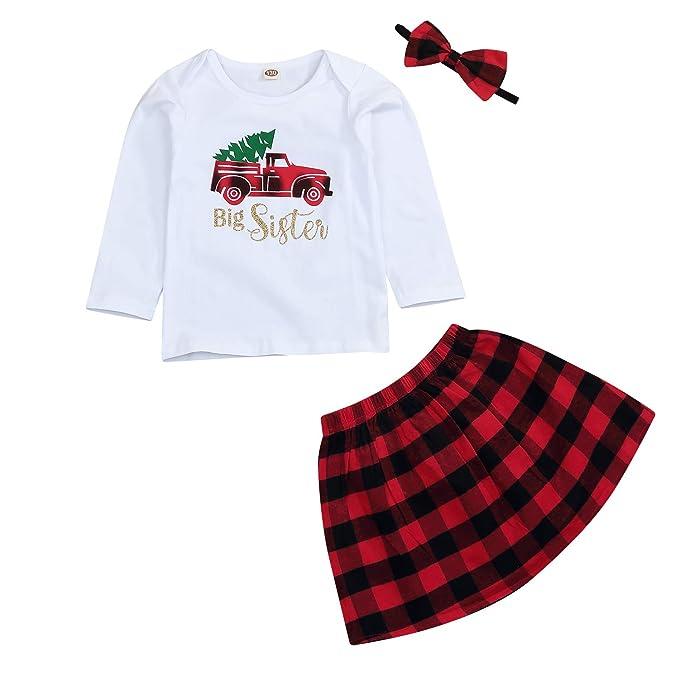 Amazon.com: Juego de 3 piezas de vestidos de Navidad para ...