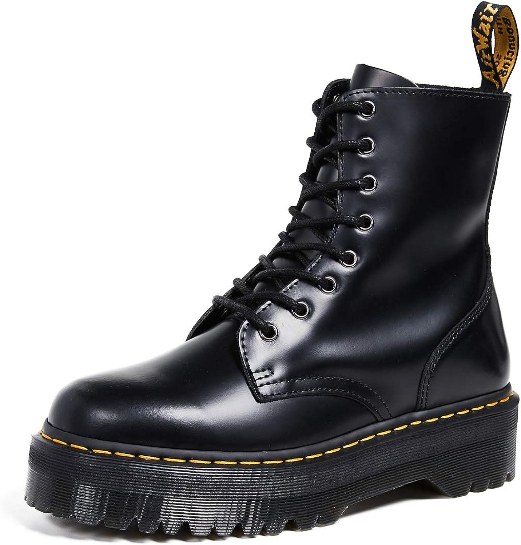 Dr. Martens, Jadon 8-Eye Leather Platform Boot for Men and Women