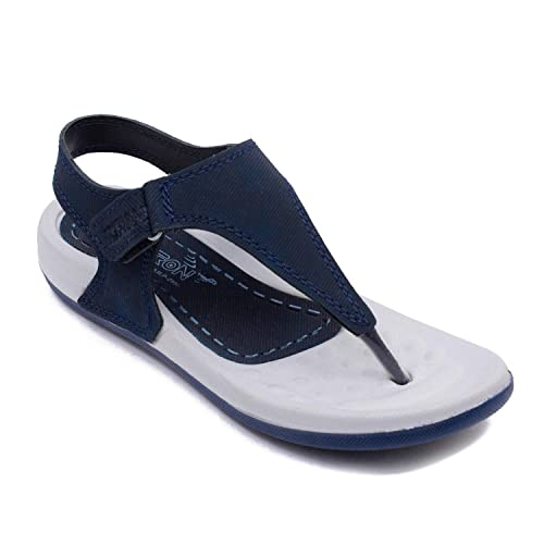 669091dcc3b5be Xellent NavyBlue Everyday Comfortable Sandals for Women-Ultra Light Eva  Sole  Buy Online at Low Prices in India - Amazon.in