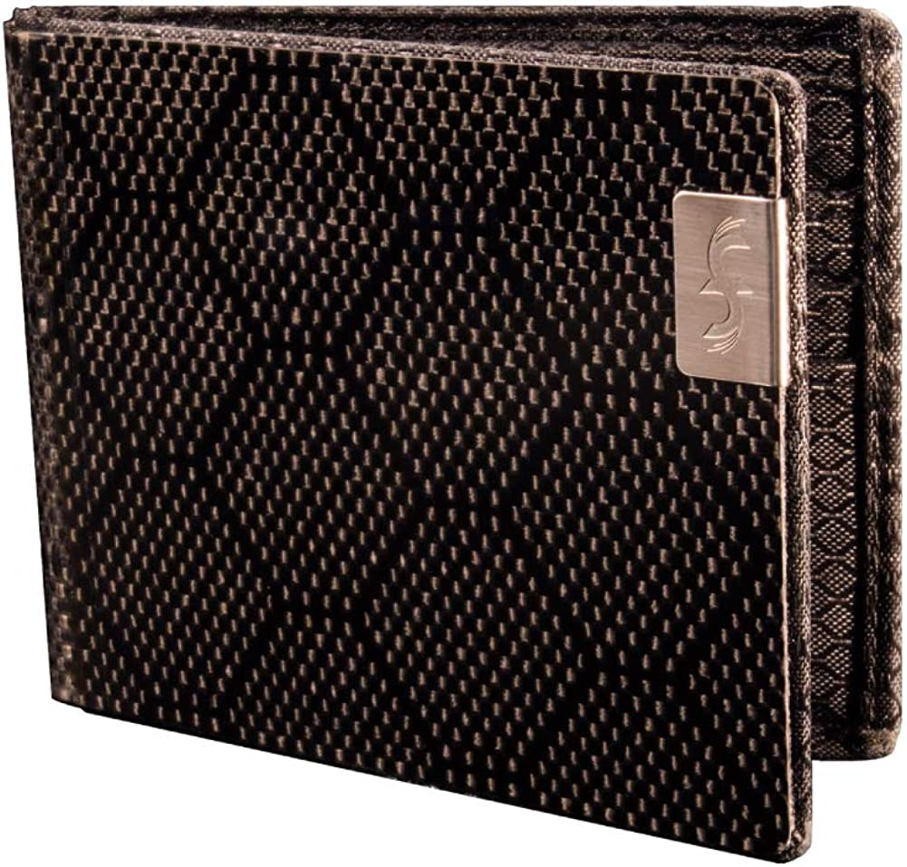 Common Fibers Max Carbon Fiber Bifold Wallet